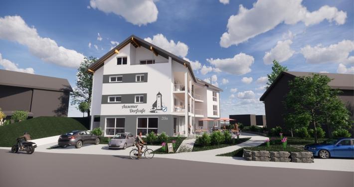 Aasemer Dorfcafe - Visualisierung