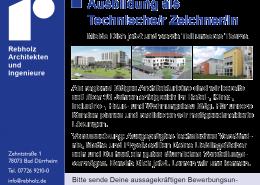 Ausbildungsstelle als Technische/r Zeichner/In