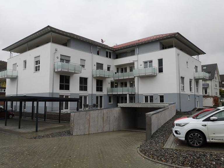 Gebäude Service-Wohnen Blumberg