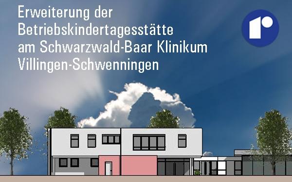Erweiterungsbau Kindertagesstätte am Schwarzwald Baar Klinikum, Visualisierung