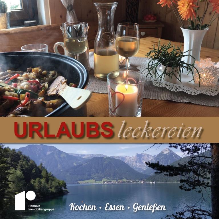 Kochbuch Urlaubsleckereien der Rebholz Immobiliengruppe