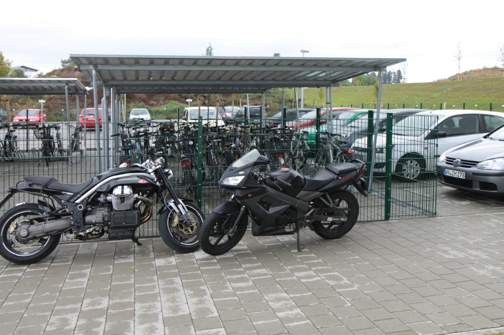 Fahrradabstellplatz Mietappartement Klinikum Villingen-Schwenningen
