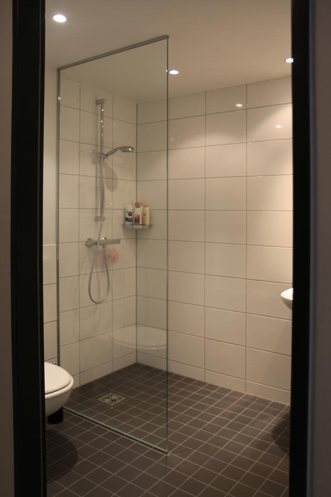 Dusche Mietappartement Klinikum Villingen-Schwenningen