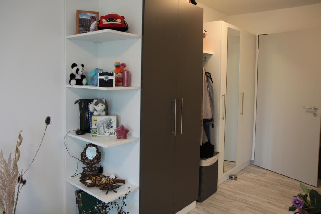 Garderobe / Eingangsbereich im Mietappartement Klinikum Villingen-Schwenningen