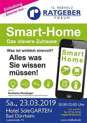Plakat A1 Rebholz Ratgeber-Forum 12 - Smart-Home