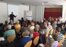 Bild Vortragsraum Rebholz Ratgeber-Forum mit Rechtsanwalt Dr. Stefan Bartholme