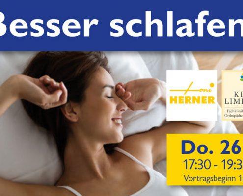 """10. Rebholz Ratgeber Forum zum Thema """"Besser schlafen"""""""