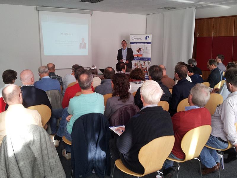 Rebholz-Ratgeber-Forum lockte wieder zahlreiche Interessenten