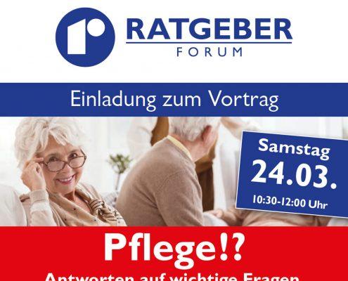Rebholz Ratgeber-Forum Nr. 11 zum Thema Pflege - Beitragsbild