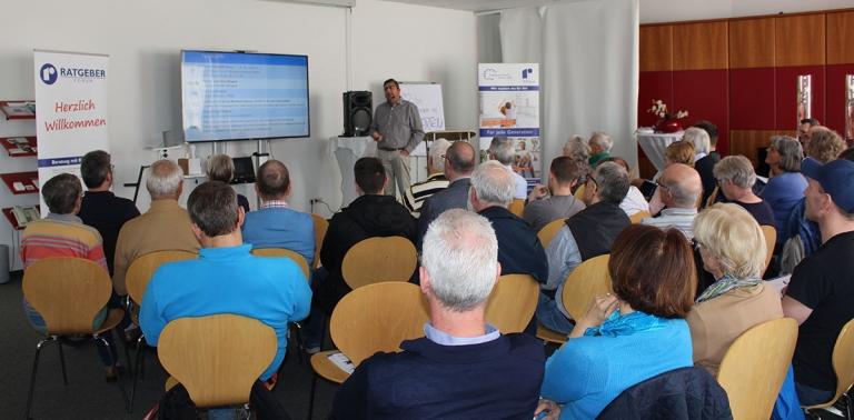 Vortrag Rebholz Ratgeber-Forum zum Thema Smart Home