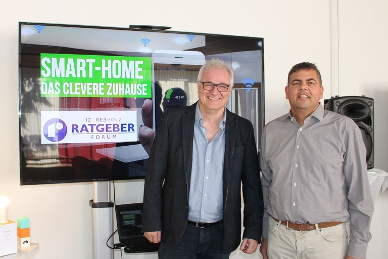 Rebholz Ratgeber-Forum, Gastgeber Michael-Rebholz und Referent Karlheinz Mundinger