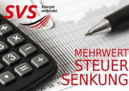 SVS senkt die Mehrwertsteuer