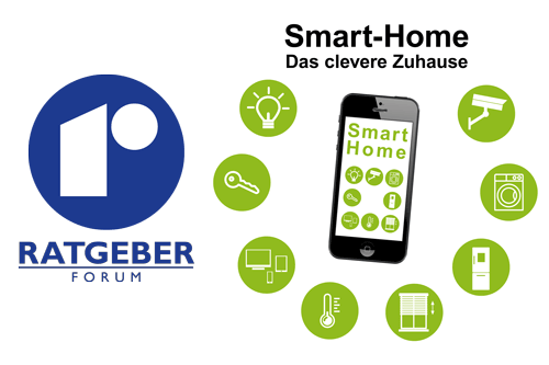 Rebholz Ratgeber-Forum Smart-Home Symbolgrafik