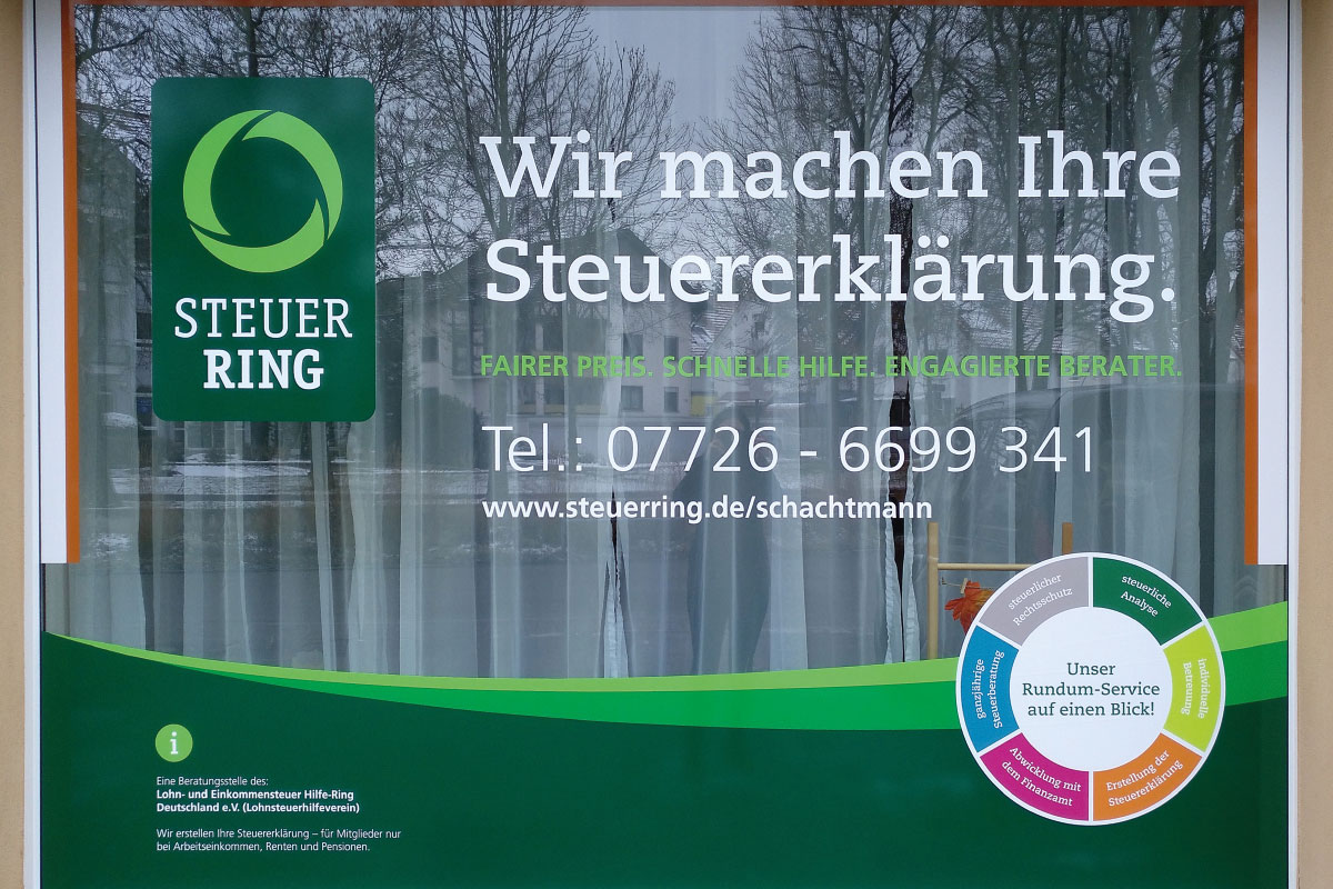 Schaufenster Steuerring Bad Dürrheim