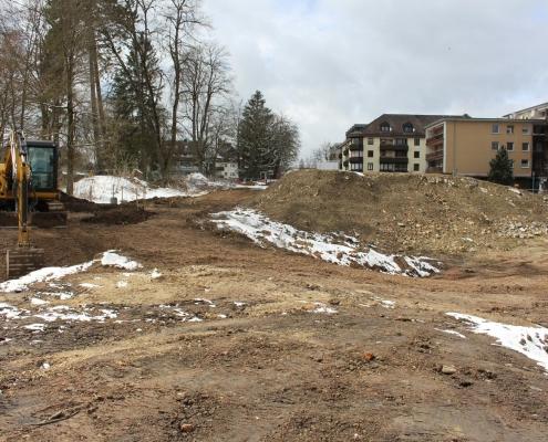 Baustelle Wohnen am Park, Bad Dürrheim