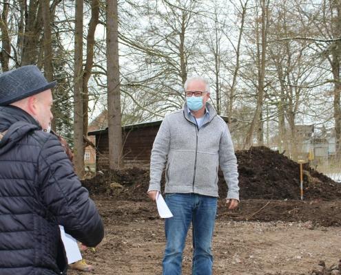 Ansprache Architekt Michael Rebholz beim Spatenstich Wohnen am Park, Bad Dürrheim