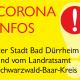 Corona Infos der Stadt Bad Dürrheim und vom Landratsamt Schwarzwald-Baar-Kreis