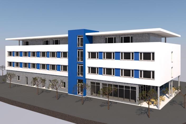 Visualisierung Schlossberg Hotel Wehingen