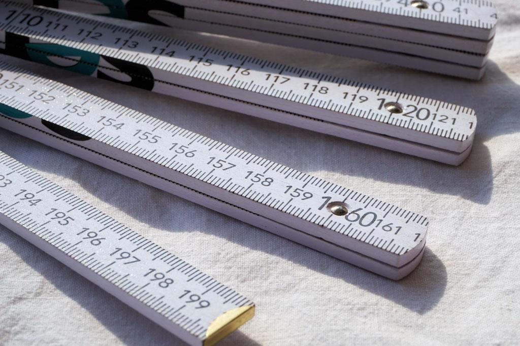 Wohnfläche messen