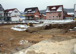 Service-Wohnen Blumberg Baugrube | Bild: Bernhard Lutz