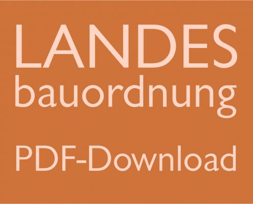 Landesbauordnung als PDF-Datei zum Download