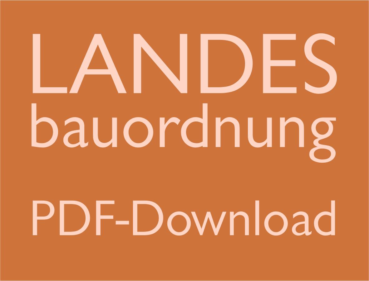 Landesbauordnung zum download landesbauordnung baden w rttemberg - Landesbauordnung schleswig holstein gartenhaus ...