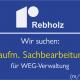 Stellenanzeige kaufm. Sachbearbeitung WEG-Verwaltung