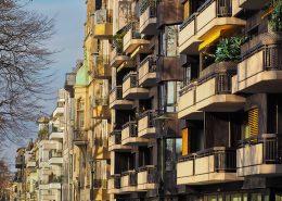 Wohngebäude-Wohnblock